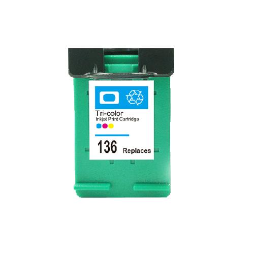 1PC C9361HE Ink Cartridge For HP 136 For HP136 DJ 5440 Psc 1510 Photosmart 7830 Printer
