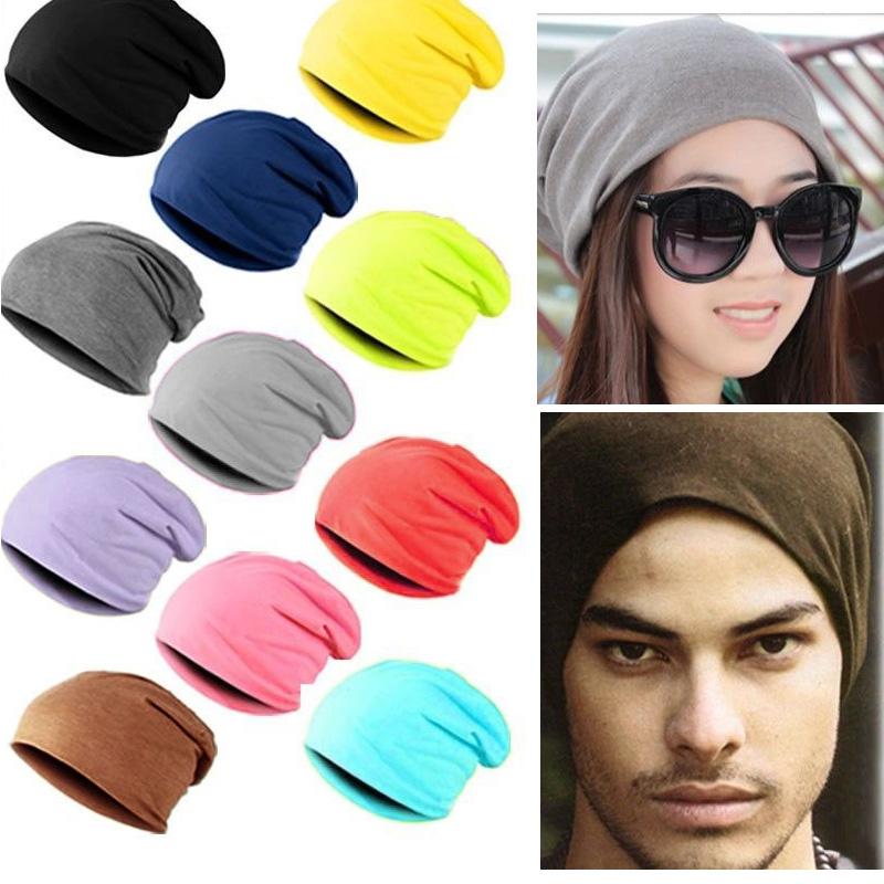 product 2015 Casual Beanies for Men Women Autumn Fashion Knitted Winter Cap Solid Color Hip-hop Slouch Skullies Bonnet Unisex Cap Hat
