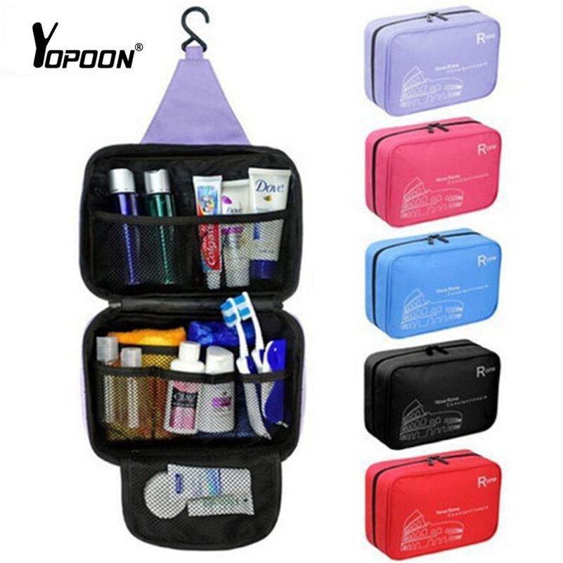 Korean Storage Organizer Capacity Outdoor Hanging Travel Toiletry Kit Cosmetic Bag Makeup Portable Daily