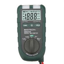 Mastech MS8232A 4 » Mini Auto Range multímetro Digital DMM amperímetro voltímetro Ohmmeter NCV Tester con luz de Flash Multimetro