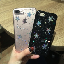 Buy Fashion Bling Glitter Case iphone 6 Case iphone 6S 7 PLus Back Cover Luxury Star Heart Shining Powder Phone Cases for $2.18 in AliExpress store