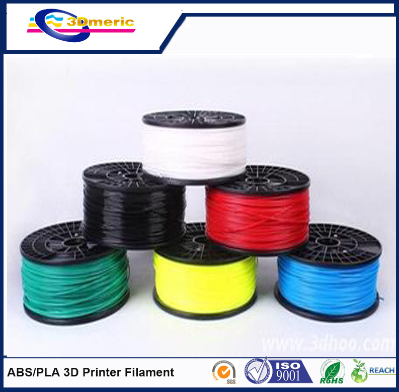2015 High Quality 3D Printer ABS Filament 30g 10M Plastic Rubber Ribbon Consumables Filament 1 75mm