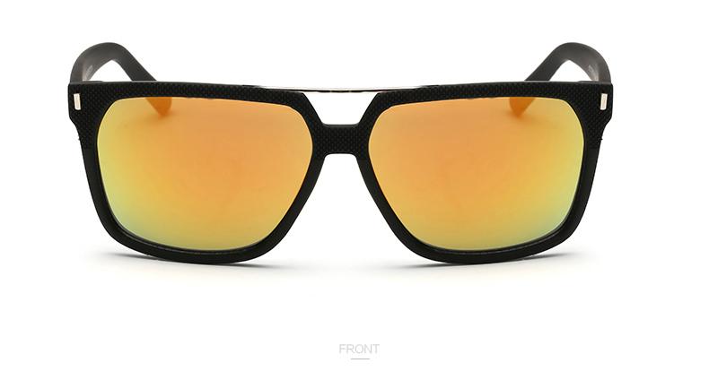 Покрытие Линз Мужчины Щит Солнцезащитные Очки Бренд Дизайнер старинные солнечные очки UV400 Оттенки Мужчины Очки Мода Очки солнцезащитные óculos de sol