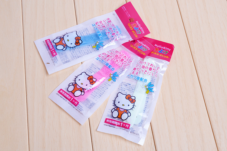 5pcs/lot Pest control anti Mosquito Repellent Bracelet baby hello kitty hand bracelet adjustable pest repellent mosquito killer(China (Mainland))