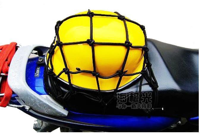 NEW Motorbike Motorcycle Cargo 6 Hooks Hold Down Net Bungee