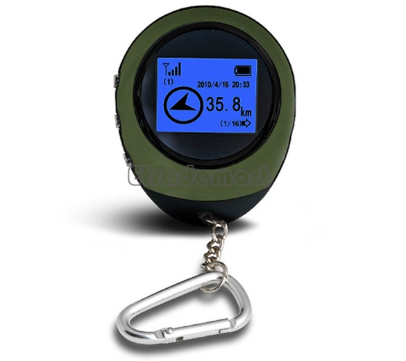 Handheld Keychain PG03 Mini GPS Navigation USB Rechargeable For Outdoor Sport Travel Wholesale 35(China (Mainland))