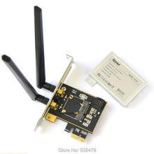 Media Mini PCI-e PCI Express A Estándar Adaptador de Dos Antena WiFi Tarjeta Bluetooth Convertidor Para PC de Escritorio del Ordenador Portátil