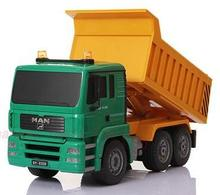 1:20 Scale Remote Control Rc Dump truck construction truck Tipper Dump-car Toy ,rc tip lorry(China (Mainland))