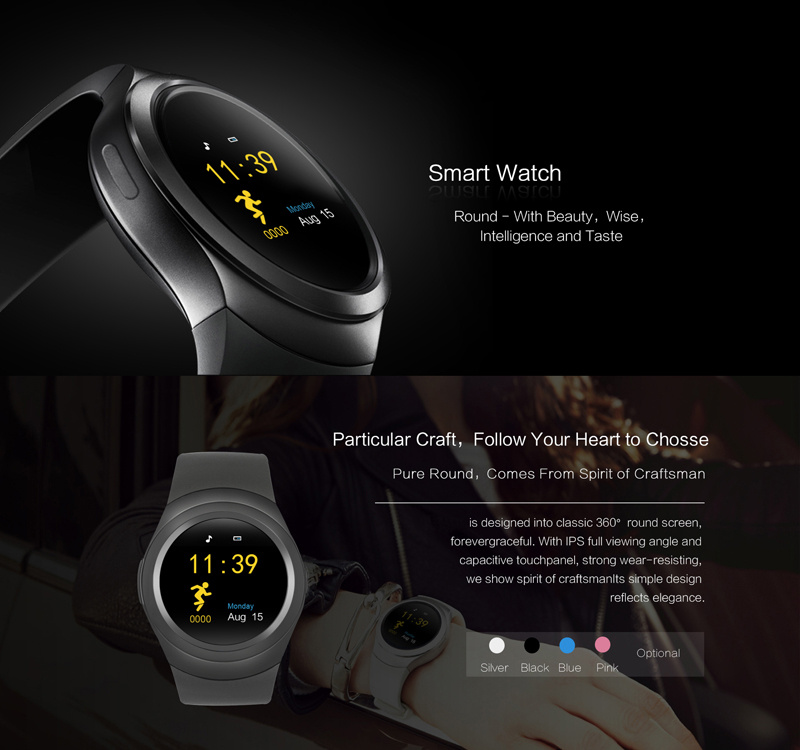 image for 2017 Pewant Wearable Devices PW05 Smart Watch Android Smart Health Blu