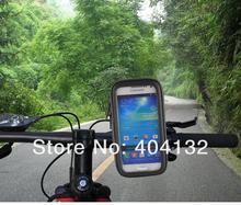 50pcs/lot Bicycle Case For Samsung S5 mini Waterproof Phone Bag Bike Mount Holder For Samsung Galaxy S4 mini(China (Mainland))