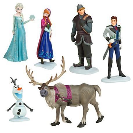 Гаджет  Free shipping Foreign Trade 6-piece set Action Play Set Anna Elsa Hans Kristoff Sven Olaf Pendant Doll Toys Snow Queen Figures None Игрушки и Хобби