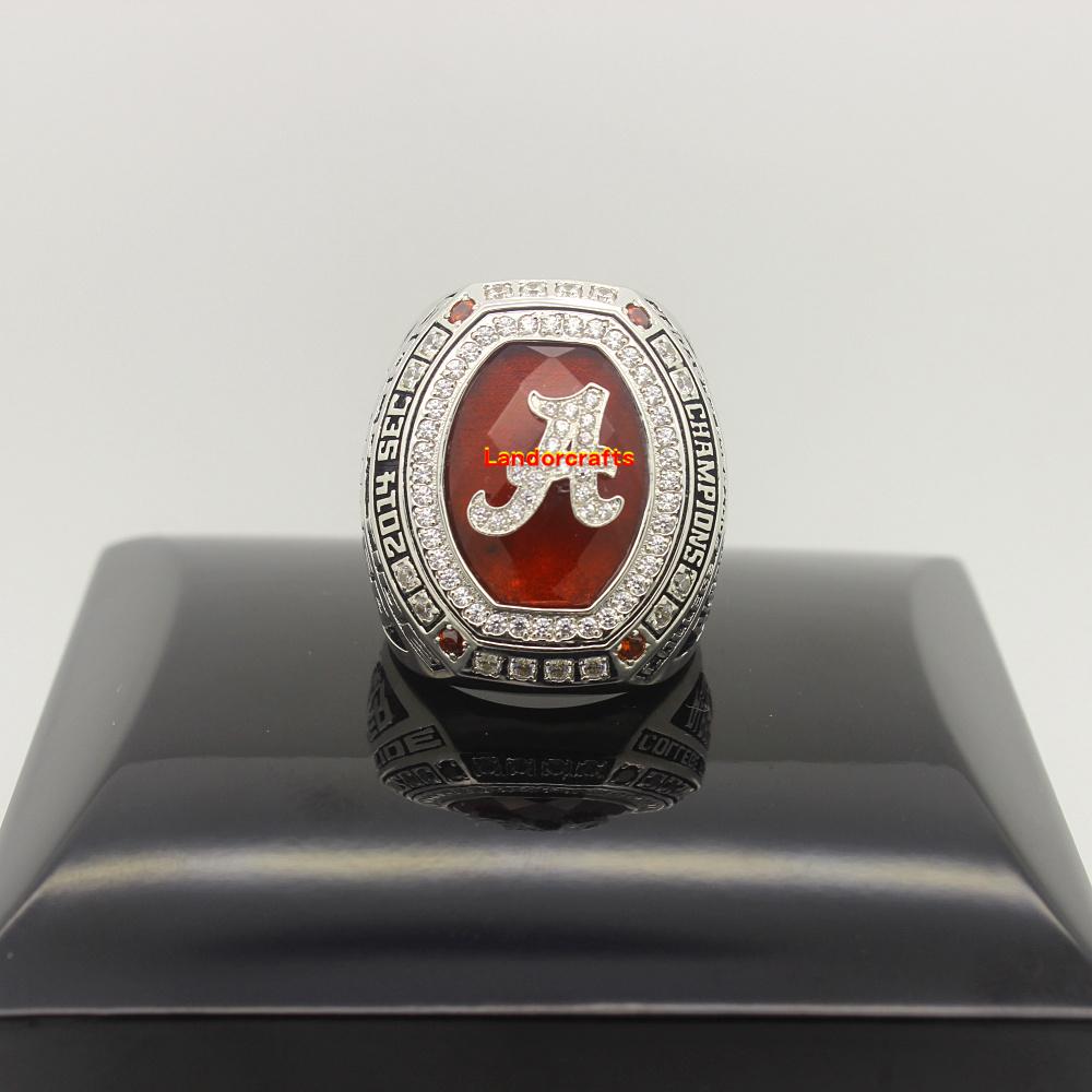 2014 Alabama Crimson Tide SEC ncaa college football National Championship Rings(China (Mainland))