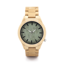 BoboBird Brand Designer Wooden Bamboo Watch Quartz Watches Soft Bamboo Wood Straps for Men Women Natural Style as Christmas Gift