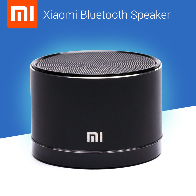 100% New Original Xiaomi Mini Wireless MP3 Bluetooth Speaker For Xiaomi Phone Apple & Android Devices PC Computer Free shipping(China (Mainland))