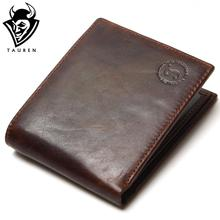 TAUREN 100% Top Quality Natural Genuine Leather Men Wallets Fashion Splice Dollar Purse Carteira Masculina Mens Purse Wallet(China (Mainland))