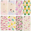 Newest Fashion Colorful Phone Cases soft TPU For Apple iPhone 5S SE 6 6S 7 Plus