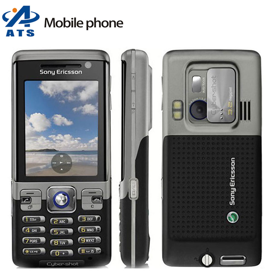 C702 Original Sony Ericsson c702 Mobile Phone 3G 3.15MP Bluetooth FM Russian keyboard Support Mobile Phone Free Shipping(China (Mainland))