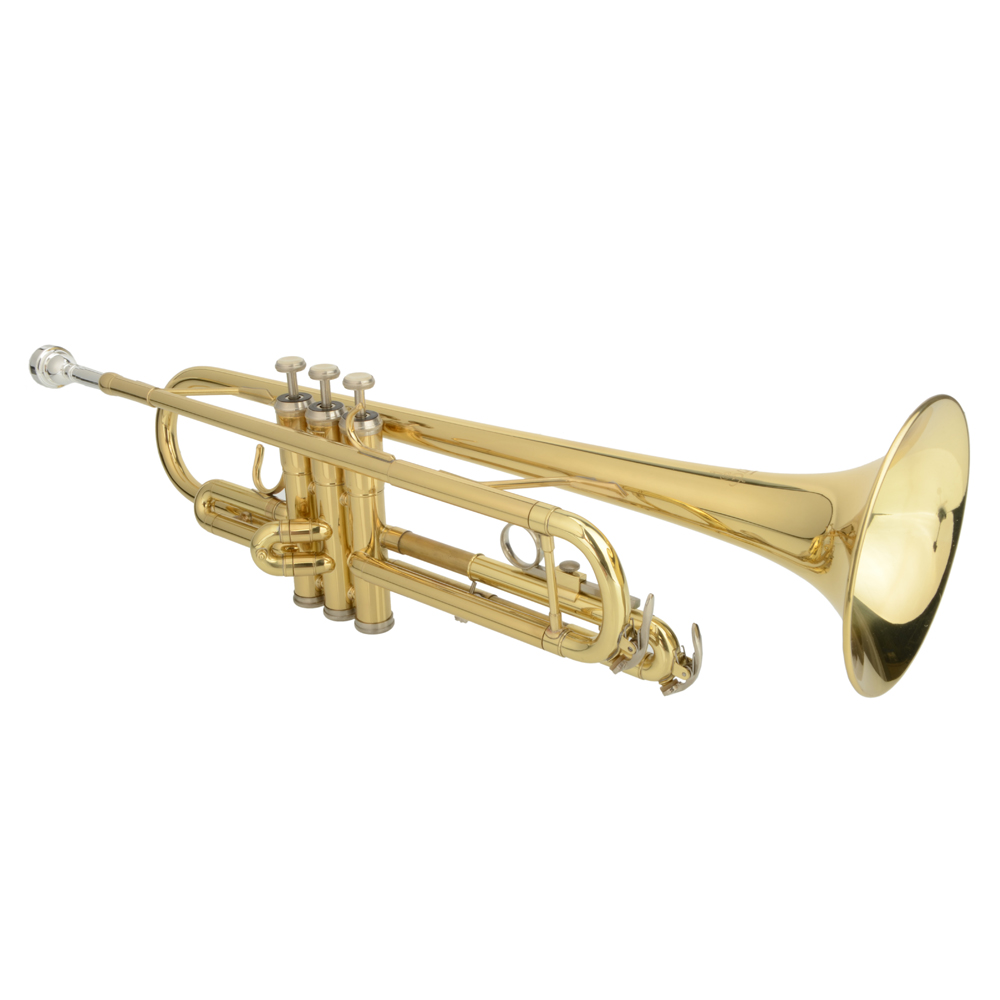 Brand Hgih Quality Brass B Trumpet Golden with Case Gloves for Free  shipping from US   US-17002053<br><br>Aliexpress