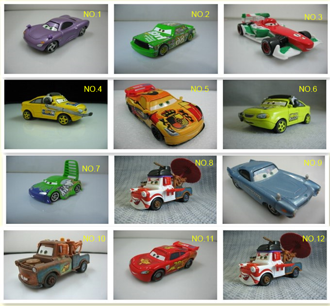 Classic cartoon Cars Alloy Toys For Sale On Cheap, Buy Cars Toy For Your Kids Gift Free Shipping(China (Mainland))