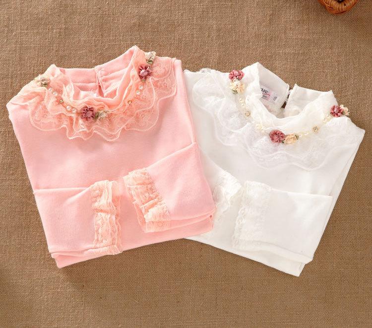 Блузка для девочек New 13 Bottoming shirt