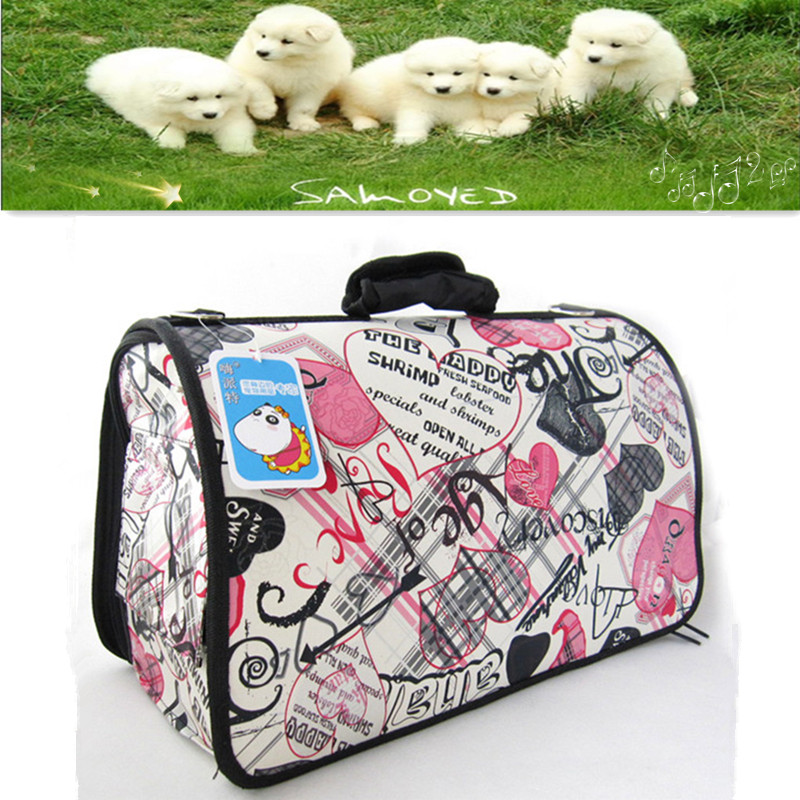 Pets Hadle Outdoor Bags for Dog&Cat with S/M/L Size Pets Cotton Outdoor Tacking Bags Free Shipping(China (Mainland))