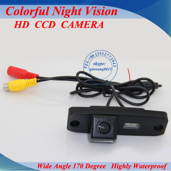 CCD Car Rear View Parking Reversing Back up Camera 170 Degree For Hyundai Elantra / Sonata NF / Accentt / Tusson / Terracan(China (Mainland))