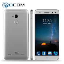 Original ZTE Blade A2 MT6750 Octa Core 1.5GHz Android 5.1 2GB RAM 16GB ROM 5.0 Inch 13.0MP Dual SIM Fingerprint 4G Mobile Phone