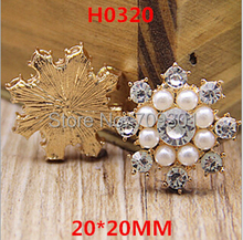 flat back pearl rhinestone button,pearl embellishment for hair accessories and phone case(China (Mainland))