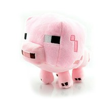 2016 New Minecraft Plush Toys Enderman Ocelot Pig Sheep Bat Mooshroom Squid Spider Wolf Animal soft stuffed dolls kids toy gift(China (Mainland))
