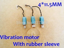 Buy 100pcs/lot 4*11.5MM Ultra Micro Coreless Motor Vibration motor DC Massager motor 3V 0.1A Electric motor Free for $24.70 in AliExpress store