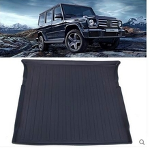 Buy Newly! Special trunk mats Mercedes Benz G 55 2015-2009 durable waterproof boot carpets cargo mat G55 2012,Free for $145.63 in AliExpress store