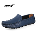 Handmade Men Loafers Casual Shoes Men s Flats Design Men Driving Shoes Slip on Moccasins Soft