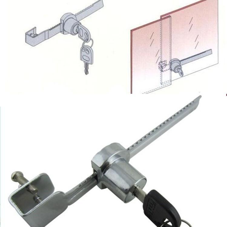 hot sale Door lock Showcase Glass Lock Mailbox lock Very Easy To Install 1 Pcs/Lot(China (Mainland))