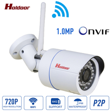 Buy Wifi Camera 720P Full HD Waterproof Outdoor Wireless Security IP Camera IR Onvif 2.0.4 IR Night Vision Mini Home Security Cam for $34.00 in AliExpress store
