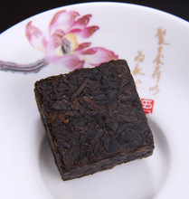 20pcs Yunnan puer tea Ripe tea Top 2003 collection of tea Small TuoCha mini square brick