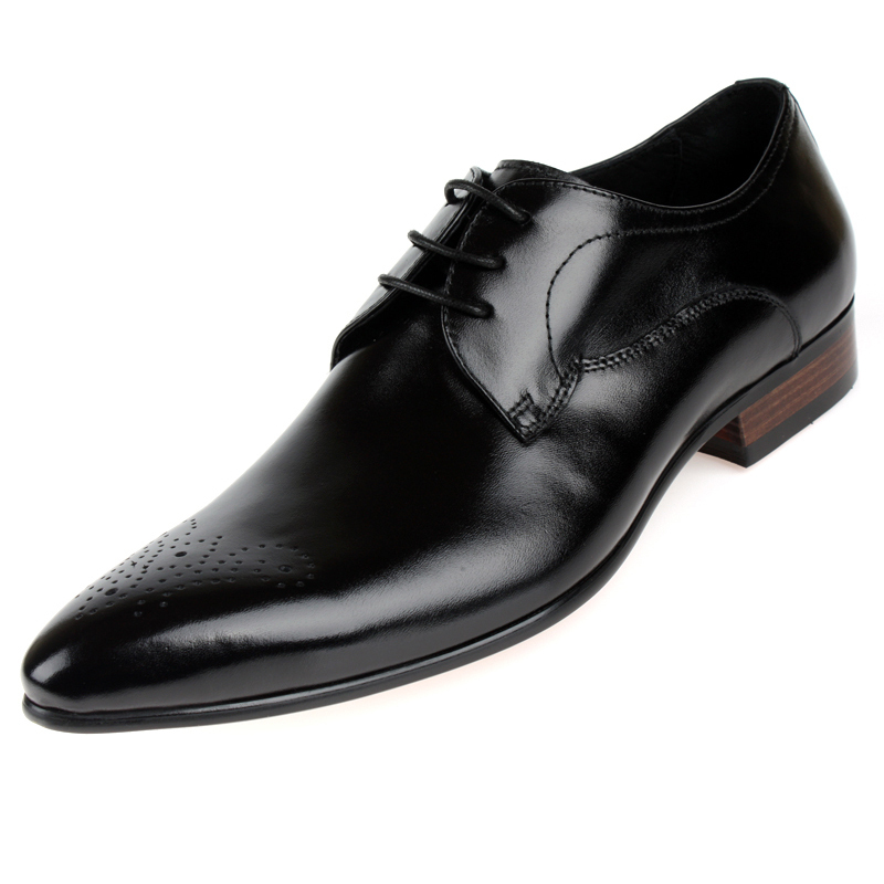 Wholesale-black-oxford-shoes-mens-dress-shoes-casual-business-shoes-genuine-leather-formal ...