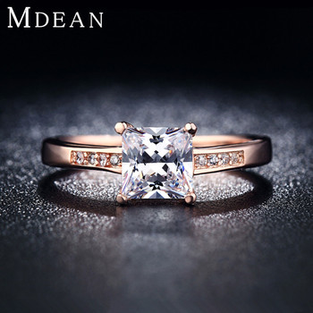 Wedding Rings For Women 18K Rose Gold Plated Jewelry Finger vintage Rings engagement Jewelry For Women Wholesale 18KR012
