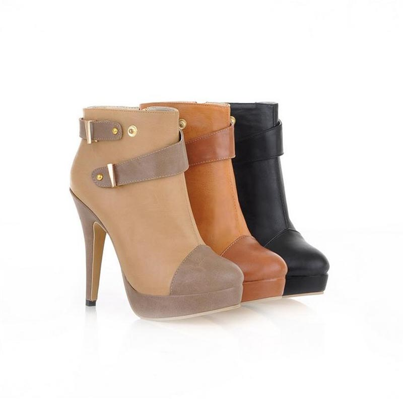 New 2014 women boots fashion Two kinds of tees spring autumn knee high shoes bottes femmes chaussure femme botas mujer femininas<br><br>Aliexpress