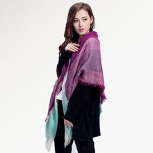 Top quality Winter Scarf Square Plaid Scarf Designer Unisex Acrylic Basic Shawls Women's Scarves hot sale 004(China (Mainland))