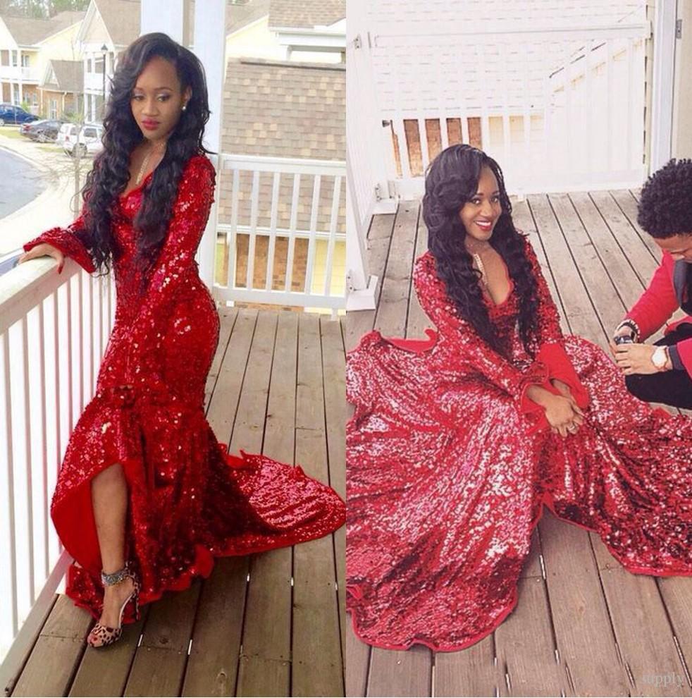 Long Tight Prom Dresses Gold Gliter | Dress images