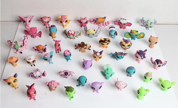 Little Pet Shop Figures Toys Cartoon Animals Cat Dog PVC Action Figure Collection Model LPS Toys Gift for Kids 360pcs/lot(China (Mainland))