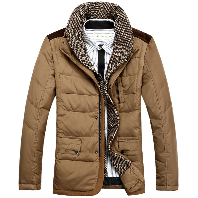 The new men s fall and winter clothes jacket men men s casual jacket Slim coat