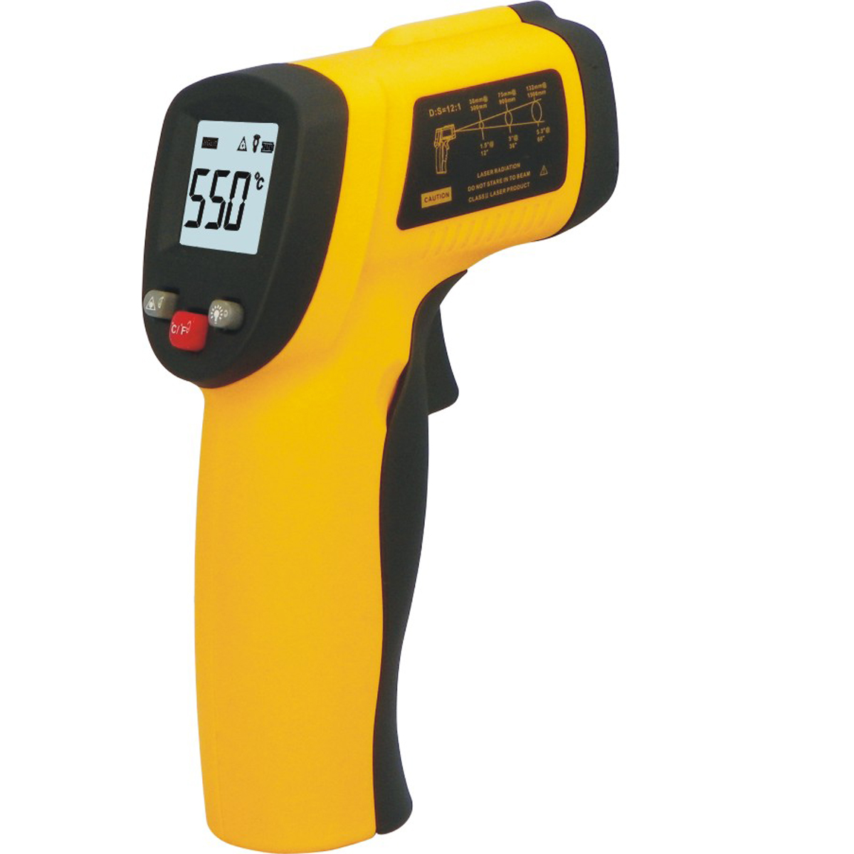 Professional Digital Infrared Thermometer Non-contact Temperature Tester IR Temperature Laser Gun Device Range -50 to 330C TE033(China (Mainland))