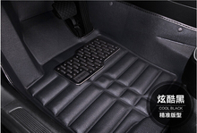 3D Luxury Slush Floor Mats foot pad mat for Nissan Rogue X-trail Xtrail 2008-2013/2014 2015 2016 (Black,Gray,Beige,Brown)(China (Mainland))