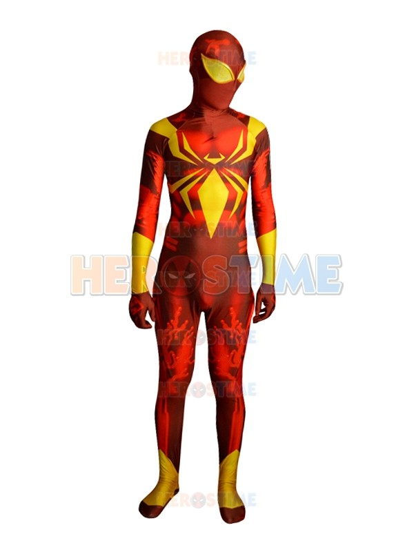 ᐅIron Spider Armor Costume V2 (ツ)_/¯ 3D 3D Shade Pattern ...
