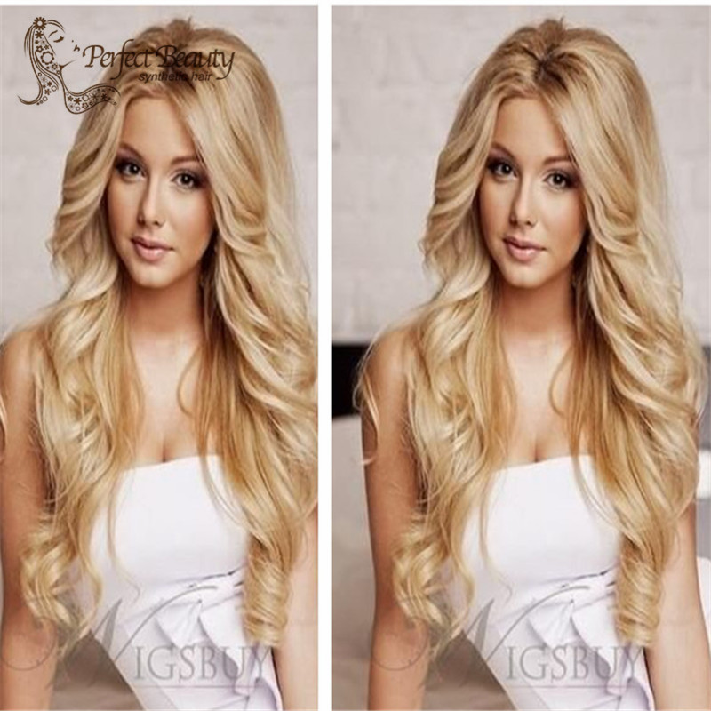 Top beauty and best fashion Synthetic Lace Front Wig<br><br>Aliexpress