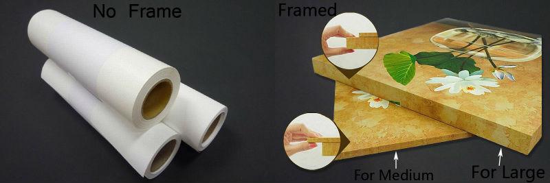 Framed No Frame