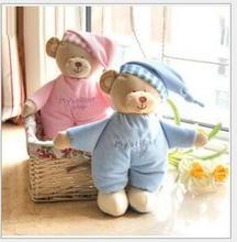 Горячие продажи 1 шт. Детская игрушка-плюшевый мишка мягкая подарок для ребенка ребенок новорожденный продукт безопасности мальчик девочка высокого качества