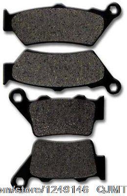 for Honda F+R Brake Pads CB 500 ( 1997-2003 ) FX 650 Vigor ( 1999-2003 ) SLR 650 ( 97-98 ) Brake Pad(China (Mainland))