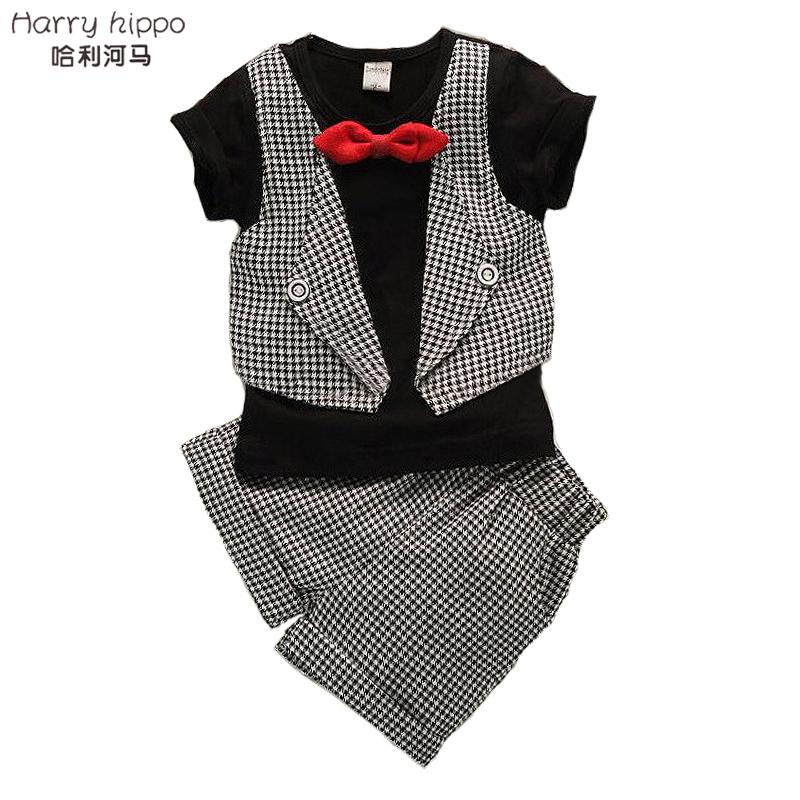 Baby Boy Clothing Set New Summer K